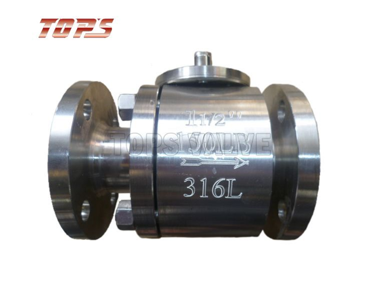 Floating Ball Valve - 2PC Forged steel floating ball valve ...