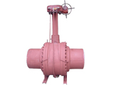 Pipeline buried Full Welded Ball Valve